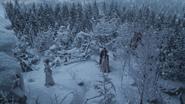 3x19 Glinda Prince David Charmant Blanche-Neige porte magique dimension forêt