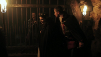 Cachot royal Rumplestiltskin Blanche-Neige Prince Charmant 1x01
