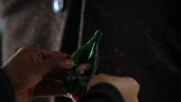 2x21 haricots magiques gousse poche graines de cristal mains Tamara