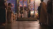 1x01 Blanche-Neige évêque Prince David Charmant pavillon chapelle invités public spectateurs cérémonie de mariage