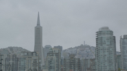 7x10 vue immeubles Transamerica Pyramid San Francisco