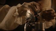 6x02 Edmond Dantès Comte de Monte-Cristo fiole venin vipère d'Agrabah tellière vin empoisonnement