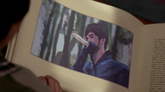 Chasseur poignard forêt 1x07 livre