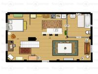 Plan de l'appartement de Mary Margaret