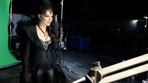 """Once Upon a Time"" in the Magic Kingdom Behind the Scenes with the Evil Queen!"