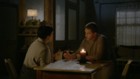 6x03 Mary Margaret Blanchard David Nolan loft Blanchard discussion mort père de David assassinat nuit