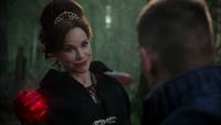 W1x11 Cora Reine de Cœur cœurs enchantés Will Scarlet sourire satisfaction avis question