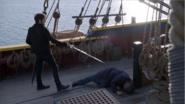 5x10 Killian Jones Capitaine Crochet Ténébreux M. Gold sol Excalibur bataille avantage