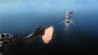 Lily Page Dragonne poursuite navire réécrit 4x22