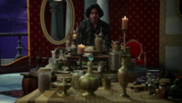 W1x11 Jafar bouteilles des génies palais rouge préparation sortilège