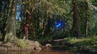 5x01 Rumplestiltskin Ténébreux Emma Swan feu follet lac