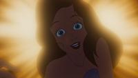 La Petite Sirène (Disney) 1989 Ariel chant chanson Partir Là-Bas (Reprise) Prince Éric vision lumière visage