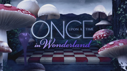 Once Upon a Time in Wonderland logo titlecard générique épisode W1x11