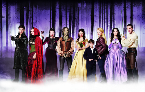 Once Upon a Time Saison 2 cast Killian Jones Capitaine Crochet Scarlett Chaperon Rouge Méchante Reine Regina Rumplestiltskin Belle Henry Mills Emma Swan Blanche-Neige Prince David Charmant