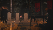 5x14 Hadès Killian Jones Capitaine Crochet pierres tombales tombes ordre punition condamnation châtiment