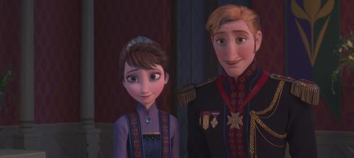 La Reine des Neiges (Disney) Roi Reine Arendelle