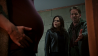 5x08 Zelena (Storybrooke) gros ventre bébé Regina Mills Robin (Storybrooke) asile psychiatrique grossess accélérée