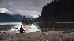 1x22 Prince David Charmant Blanche-Neige demande en mariage palais royal lac Royaume forêt enchantée