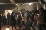4x19 Photo tournage 2
