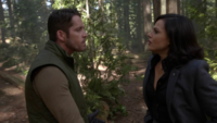 4x06 Robin (Storybrooke) Regina Mills forêt aveux dégeler Marianne impossible amour