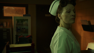 6x16 infirmière Ratched hôpital psychiatrique clé