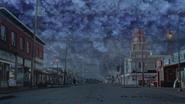 4x09 Storybrooke pluie miroir Sortilège des Mille Éclats