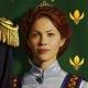 Reine Gerda d'Arendelle portrait carré
