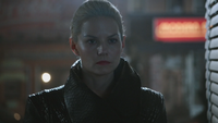 5x01 Emma Dark Swan Ténébreux Ténébreuse Cygne Noir apparition