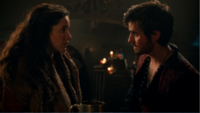 5x14 Milah Killian Jones rencontre bar proposition pirate amour