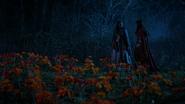 5x18 champ prairie de coquelicots fleurs pavots Dorothy Gale Ruby Chaperon Rouge sourire surnoms