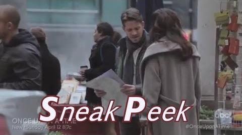 """Once upon a time 4x17 sneak peek 2 """"Heart of Gold """" (HQ) Robin Marian in New York City"""