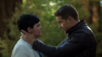 6x03 Mary Margaret Blanchard David Nolan main tête discussion Malédiction vie normale