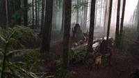 1x01 forêt enchantée Sept Nains Joyeux Grincheux Timide Prof Simplet Atchoum cercueil de verre Blanche-Neige Prince David Charmant ouverture