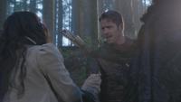 3x12 Blanche-Neige Robin de Locksley des Bois Reine Regina