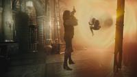 3x22 Rumplestiltskin Emma Swan Château des Ténèbres cave portail voyage dans le temps