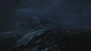 4x01 voilier royal Arendelle mer déchaînée tempête