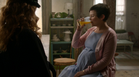 Mary Margaret Zelena verre jus d'orange 3x15