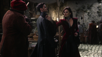 7x07 Reine Regina Uchronie Killian Jones Uchronie Crochet étranglemement Mouche Uchronie Autre Royaume