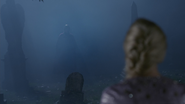 4x05 Anna ombre Elsa cimetière de Storybrooke