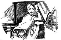 Les 101 Dalmatiens (roman) Cruella d'Enfer illustration