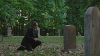 4x01 M. Gold Neal Cassidy Baelfire pierre tombale tombe cimetière confession