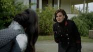 6x09 Reine Regina Sérum Regina Mills cœur enchanté menace mort ferme de Zelena