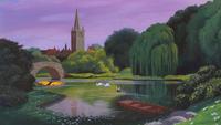 Alice au Pays des Merveilles (Disney) 1951 Angleterre Londres parc vue