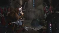 Le Magicien d'Oz (film) 1939 Méchante Sorcière de l'Ouest mort fonte fond