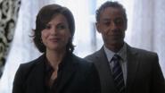 1x08 Regina Sidney nouveau maire de Storybrooke mairie