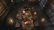 2x13 Abraham Anton Argyle Arlo Andre table repas fête haricots magiques