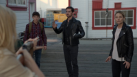 6x03 Ashley Boyd arme fusil menace Henry Mills Killian Jones Emma Swan