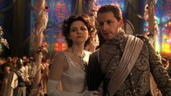 1x01 Blanche-Neige Prince David Charmant défi menaces Méchante Reine Regina malheur victoire