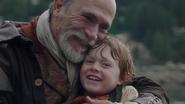 1x20 Geppetto Pinocchio vrai petit garçon pantin marionnette joie sourires