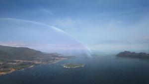 2x09 Royaume enchanté région dôme protecteur charme de protection refuge île des survivants arrivée Sort noir Malédiction horizon